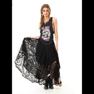 Spell and the gypsy Rhiannon Lace Skirt